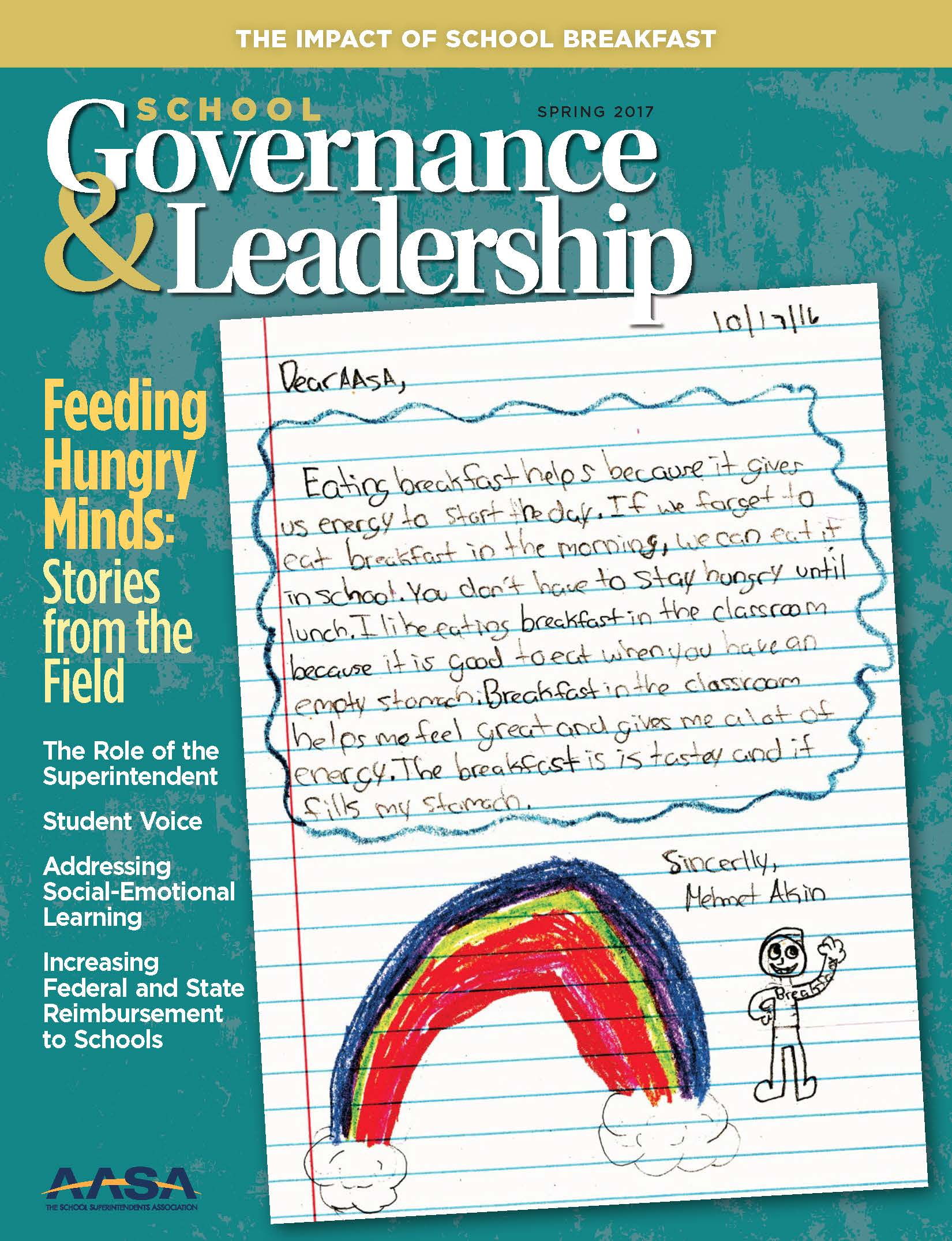 SGL School Breakfast May 2017 Cover