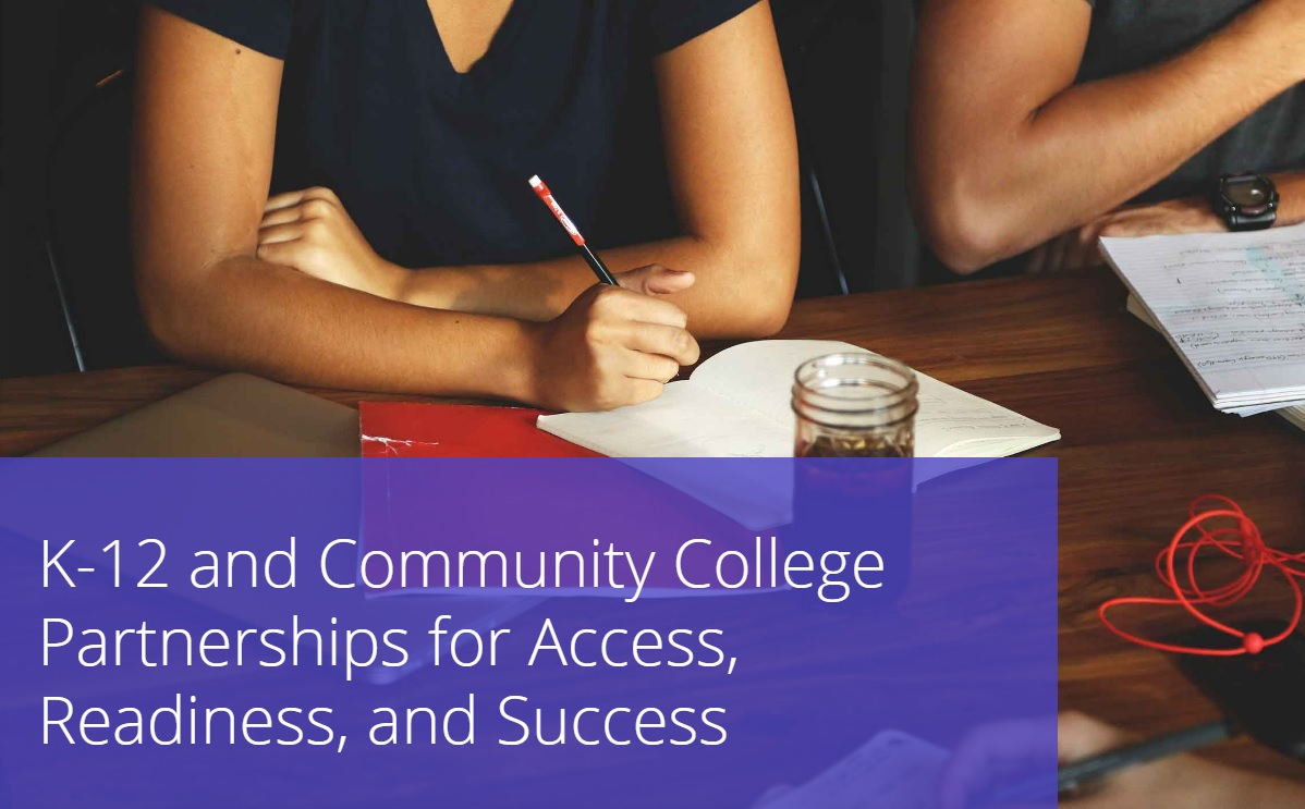 Hobsons webinar community college partnerships