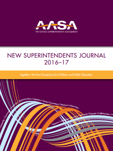 AASA New Superintendents Journal 2016-17